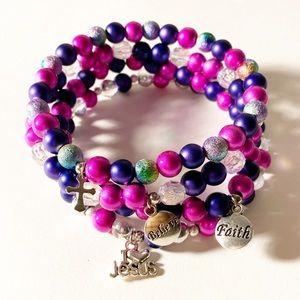 Inspirational Jewelry Beaded Bracelets for Women